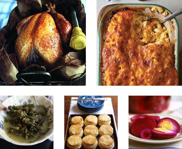 Menu a classic southern thanksgiving for Traditional southern thanksgiving dinner menu
