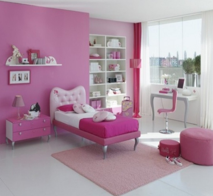 Girls Dream Bedrooms Awesome Decorating Design