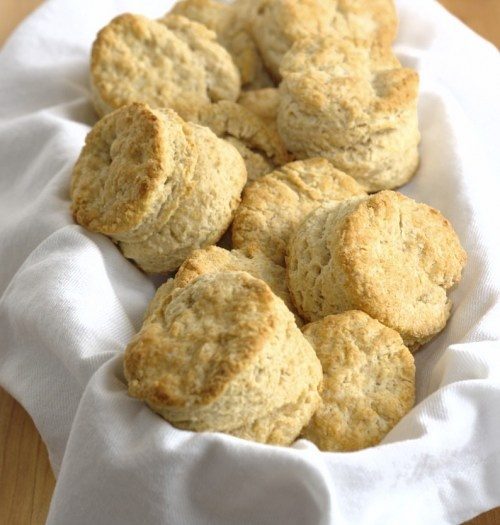 whole wheat buttermilk biscuits...a new spin on traditional shortening ...