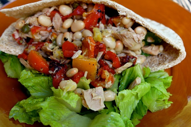 Tuna and White Bean Salad | Sip, Taste, Entertain | Pinterest
