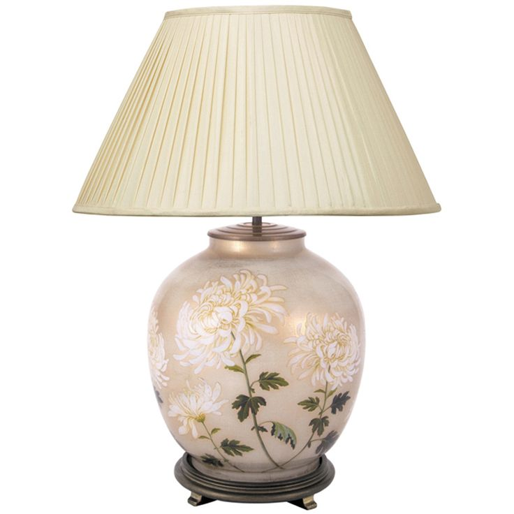 chrysanthemum large table lamp base only table lamps. Black Bedroom Furniture Sets. Home Design Ideas