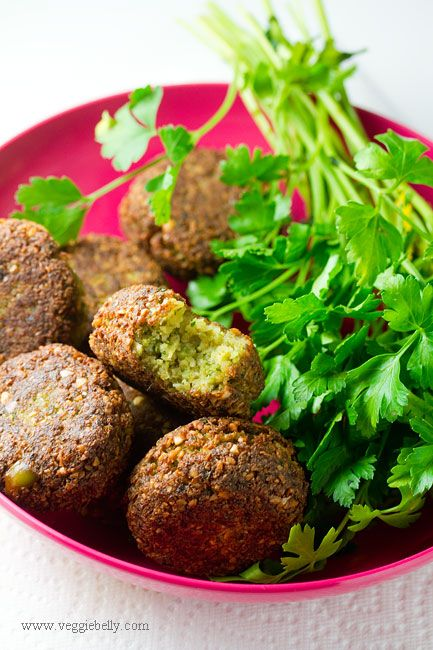 Chickpea-fava bean falafel | FOOD + DRINKS | Pinterest