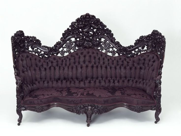 Sofa Was A Leading Force In The Rococo Revival In The USA London