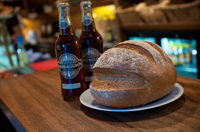 ... Rum Finish bread at the Manna House, Edinburgh. (Taken for Hot Rum Cow