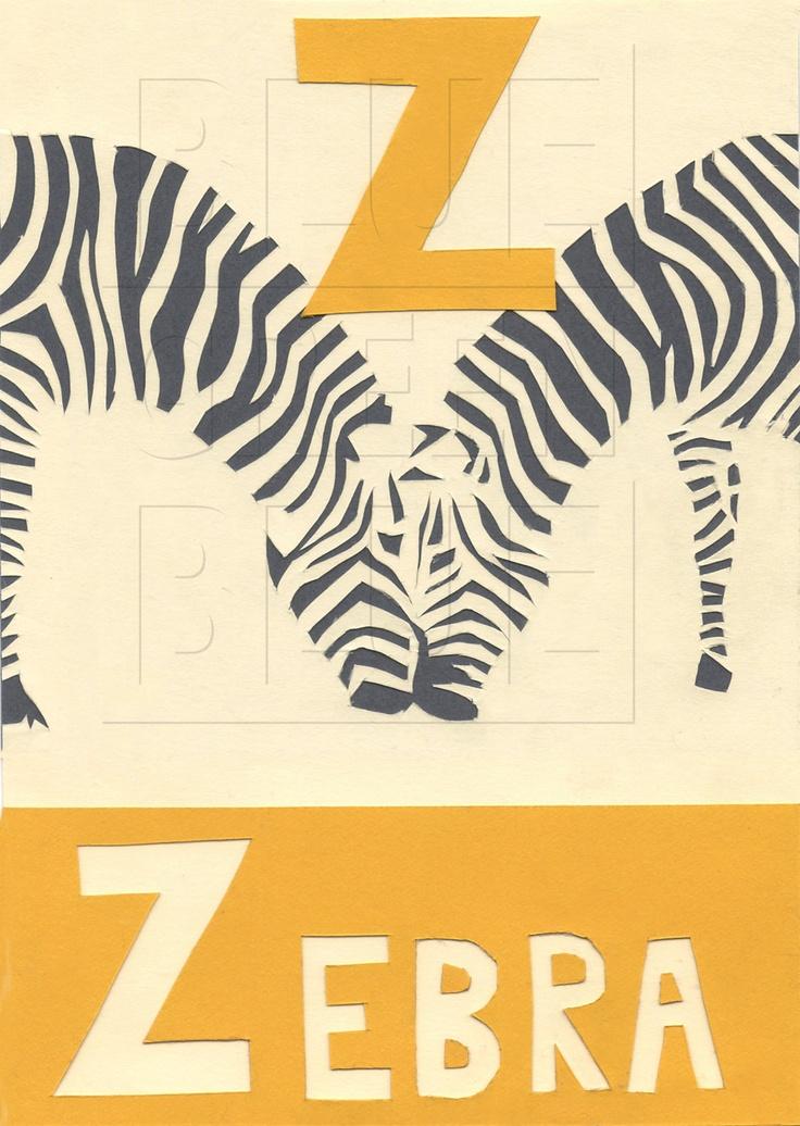 Only Zebra Print Letters A-Z - Bing images Zebra 0 Font