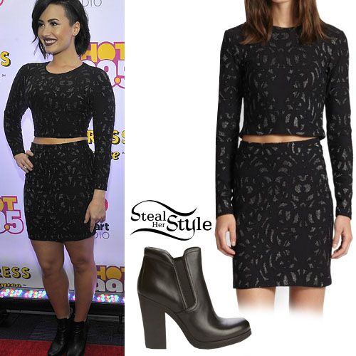 Steal Style Demi Lovato Images  Pinterest Victoria Justice Ariana Grande