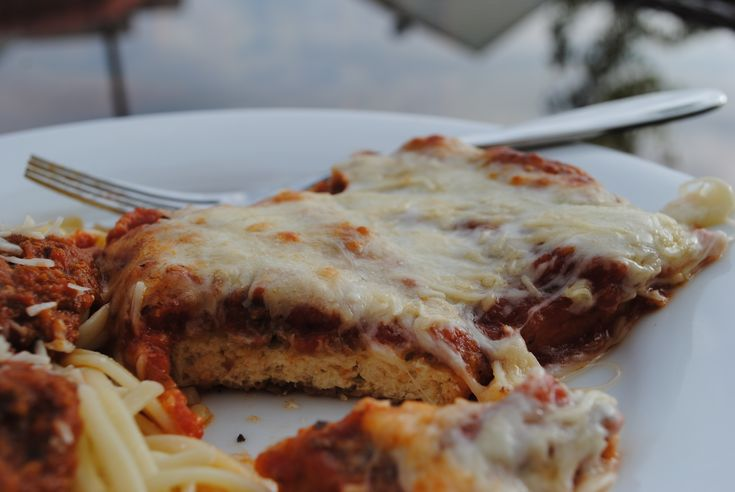 Tofu Parmigiana. I'd like this for dinner right now, please!