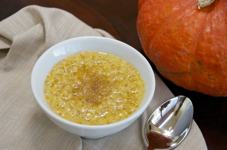 Pumpkin Oatmeal - Delights Of Culinaria
