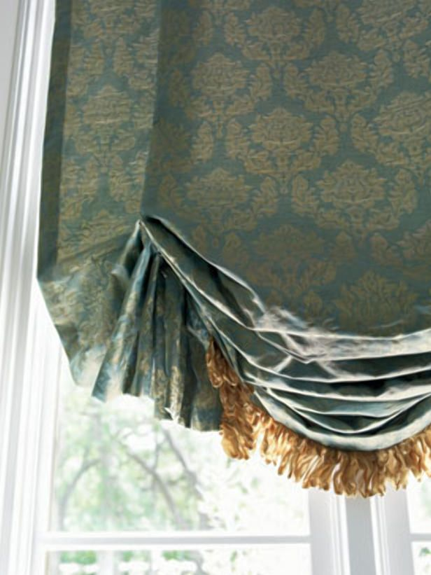 HGTV top 10 window treatments-Luxe Fabrics