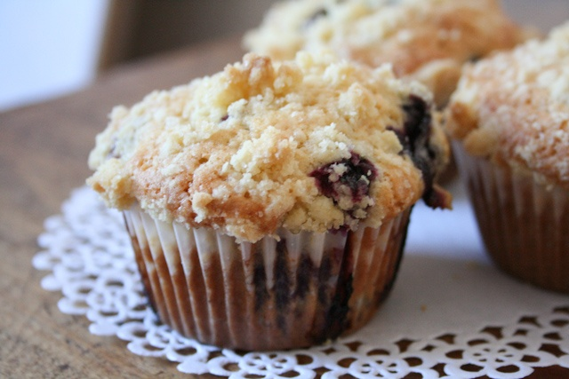 Browned Butter Blueberry Muffins | Sweeties | Pinterest