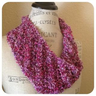 One Skein Knitting Patterns Free : Energia One-Skein Cowl Free Knitting Pattern