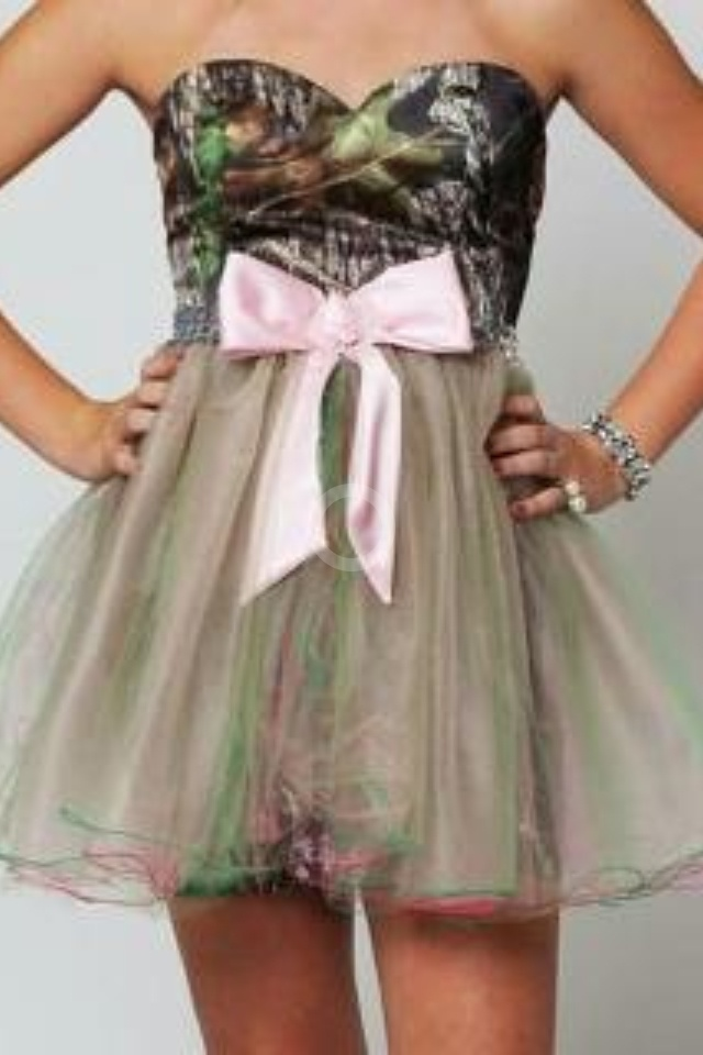 Camo 8th grade grad. dress!!!