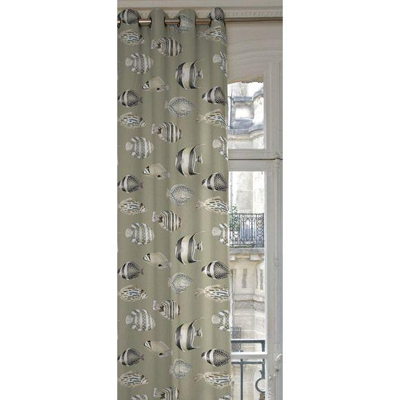 Rideaux leroy merlin poisson textile tapis tapisserie - Leroy merlin tringle a rideaux ...