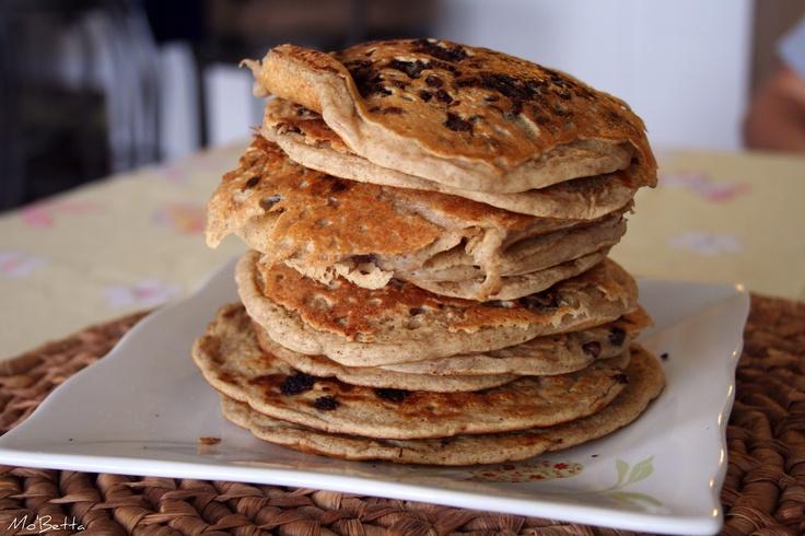 Oatmeal Cookie Pancakes | Starts | Pinterest