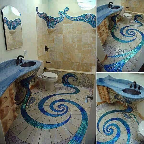 Ocean Bathroom Interior Exterior Design Ideas Pinterest