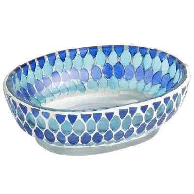 Mosaic bath accessories pier 1 pinterest for Mosaic bath accessories