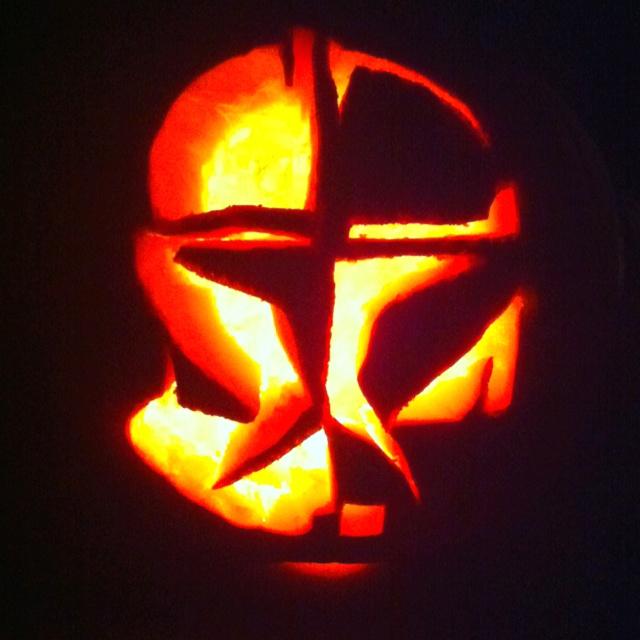 Star wars pumpkin carving homemade halloween pinterest