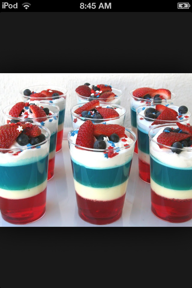 4th of july desserts pinterest