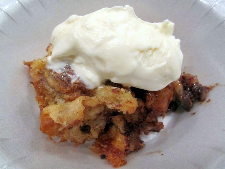 Chocolate Croissant Bread Pudding   Pudding & Custards   Pinterest