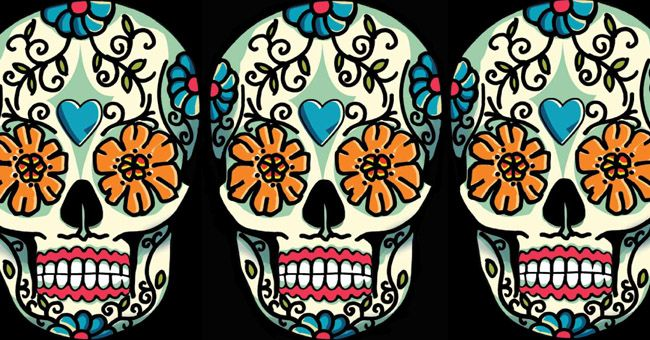 Day of the dead mural art pinterest for Day of the dead mural