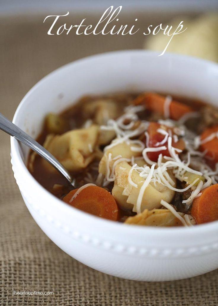 Tortellini sausage soup recipe