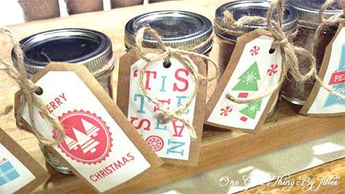 Simple Handmade EDIBLE Gift – Homemade Hot Chocolate