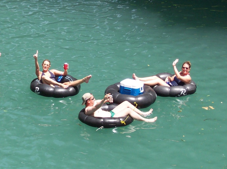 Come float the river in Gruene!