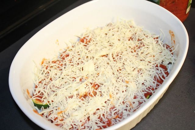 Easy Cheesy Zucchini Bake | GetOnMy Dinner Plate | Pinterest