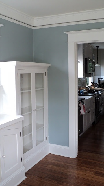 mount saint anne blue grey a painted wall pinterest
