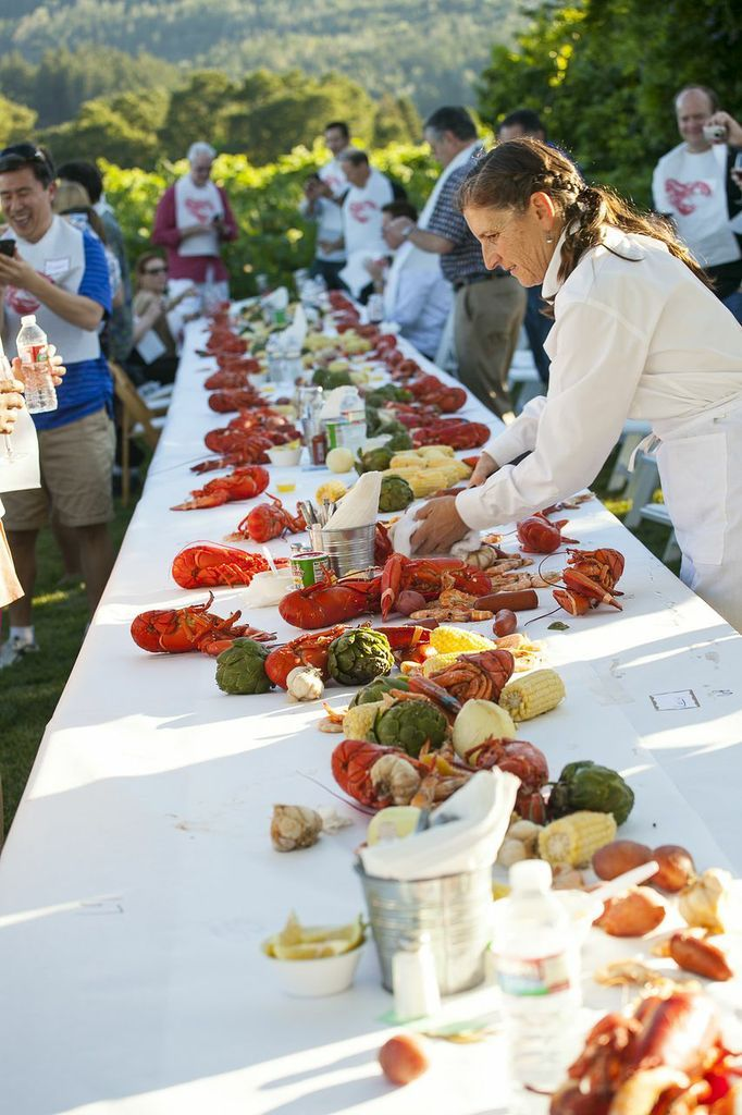 Lobster Boil, Whitehall Lane Winery | Vineyards and Wineries | Pinter ...