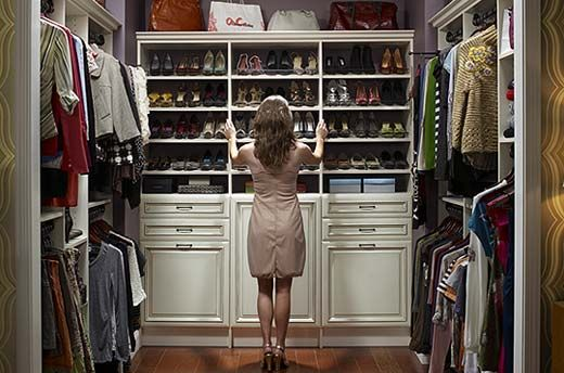 #14    Perfect closet. Place for everything.