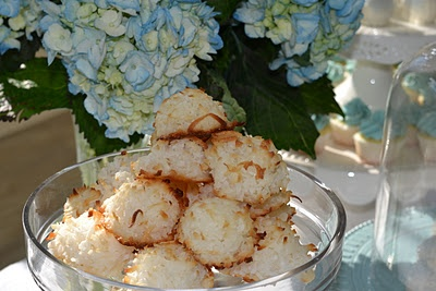delicious coconut macaroons! | For the Love of Baking | Pinterest
