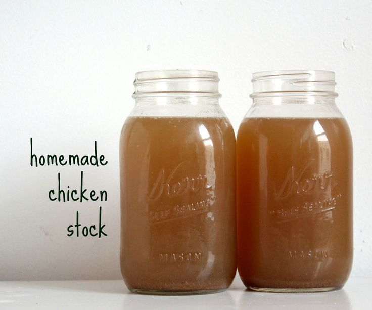 Picture of slow cooker chicken stock   Cooking   Pinterest