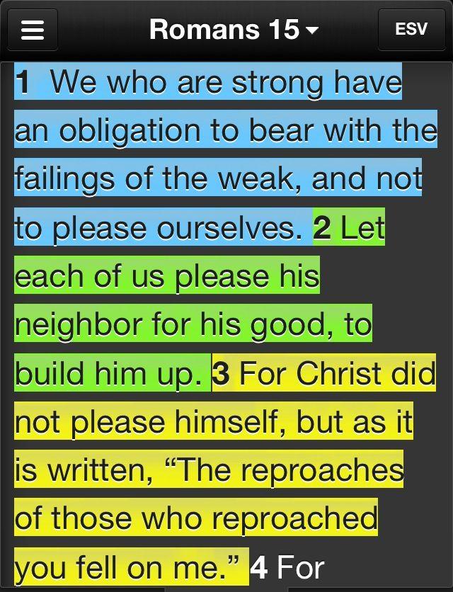 Romans 15 1 3 Thank You Jesus Pinterest