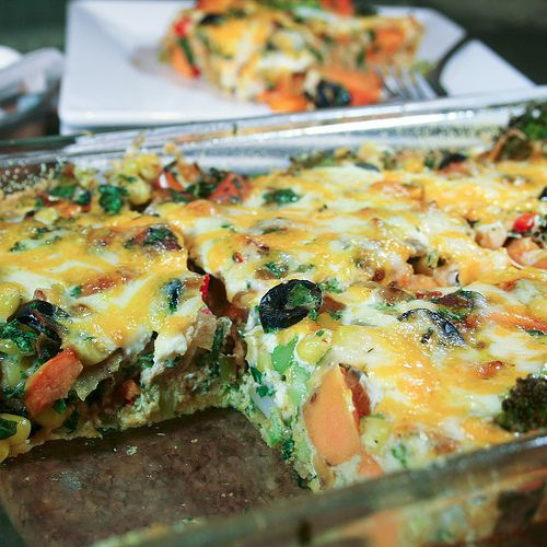 Sweet Potato Oven Baked Frittata - The Healthy Foodie