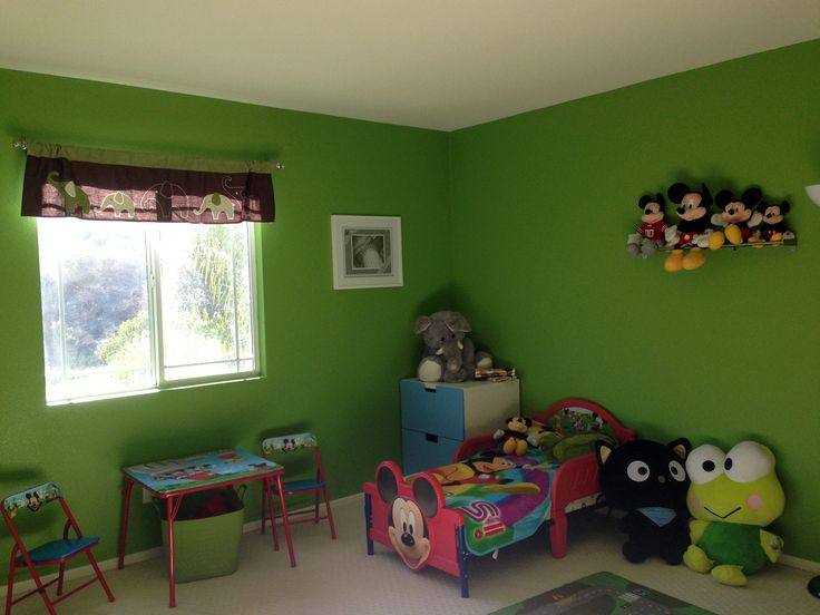 Commickey Mouse Kids Room : Mickey Mouse room  Home : Kids rooms  Pinterest