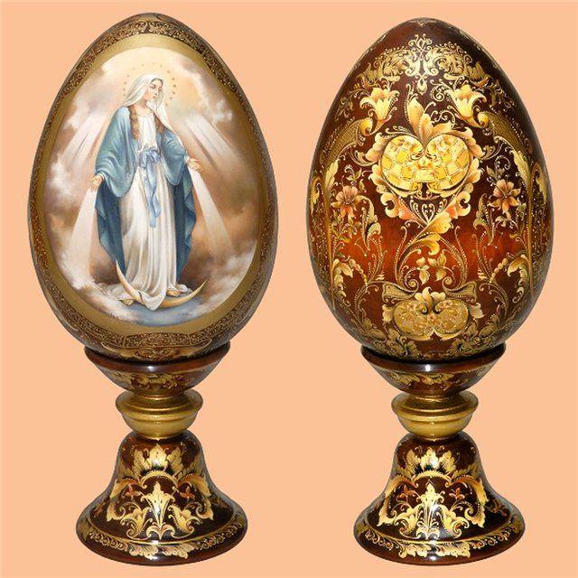 Пасхальные яйца от Монаховой.