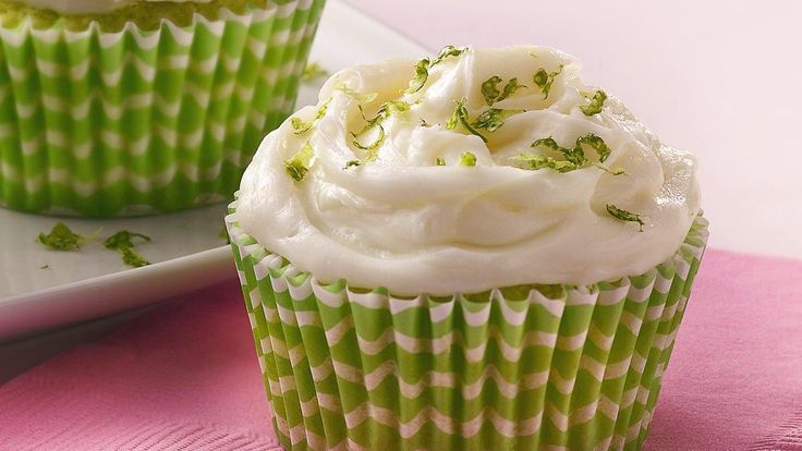 Key Lime Cupcakes recipe and reviews - Key lime juice brings bold ...
