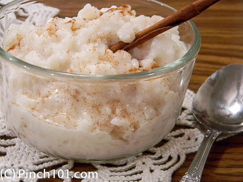 love rice pudding! And this recipe is simple and still delicious. It ...