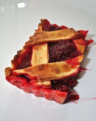 Scandi Foodie: Rhubarb and raspberry crostata