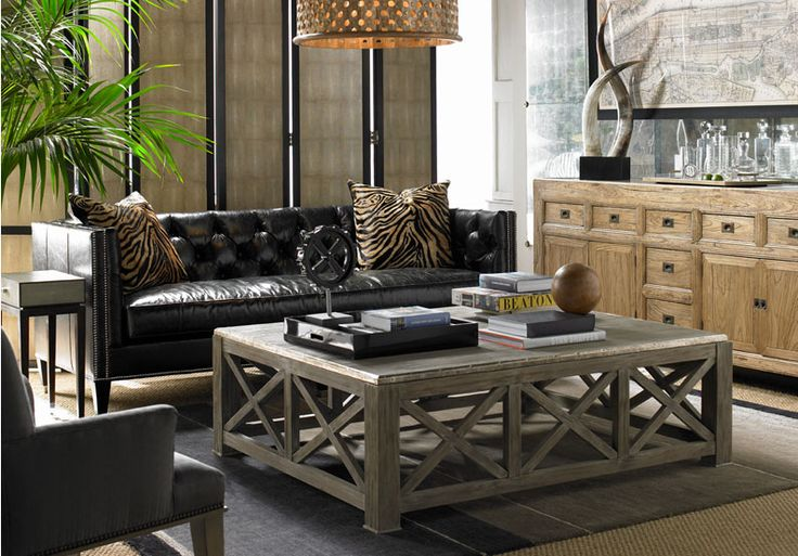 Upscale Living Room - Furnishings available through Design Center ...