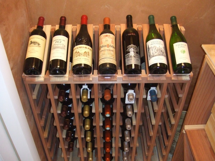 Wine rack our wine cellars pinterest for Wine cellar pinterest