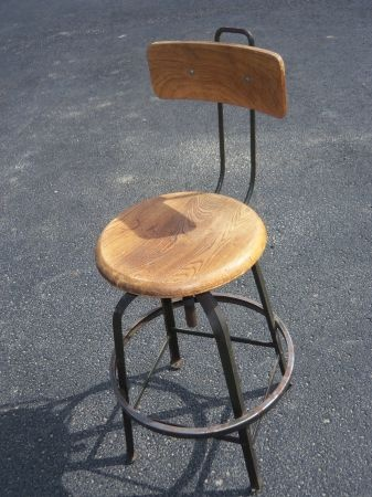 Vintage drafting chair stool for the home pinterest
