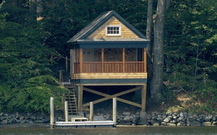 Pin by malae harris on lakehouse pinterest for Boat house plans pictures