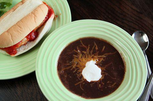super easy and basic Black Bean Soup