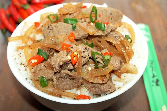 Gyudon) Japanese Beef Bowl | Foods I Love (and one day want to cook ...