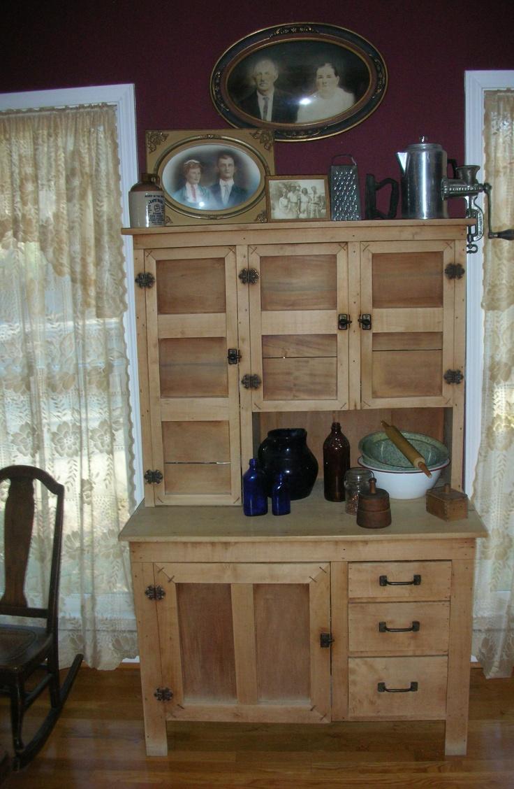 Primitive Cabinet | primitive country kitchens | Pinterest