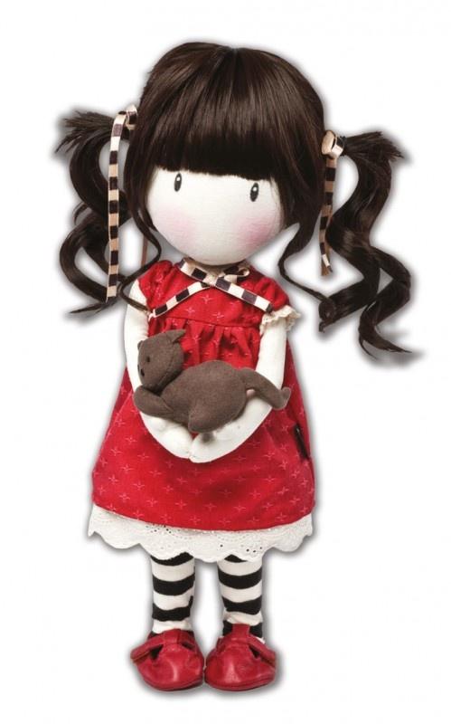 Gorjuss специальные куклы Ткань издание - Рубин