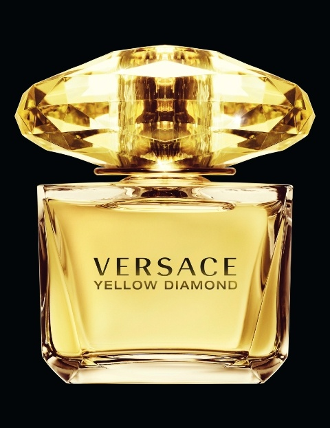versace yellow diamond perfume bottles pinterest. Black Bedroom Furniture Sets. Home Design Ideas