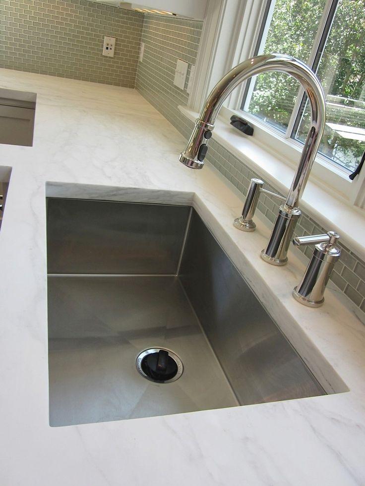 Single-Basin Deep Stainless Steel Sink kitchen Pinterest